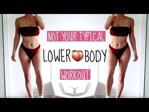 NOT YOUR AVERAGE LOWER BODY EXERCISES | New Lower Body Exercises