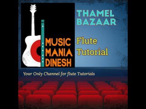 Thamel Bazaar Flute Tutorial by Dinesh, flute scale B