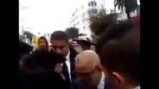 تلاميذ الرباط يحاصرون بنكيران بخصوص برنامج مسار