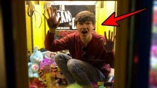 STUCK inside a Claw Machine!!! | JOYSTICK