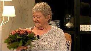 Tillbakablick på Maj Sjöwalls sista intervju hos Malou - Malou Efter tio (TV4)