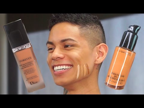 MAC NC45 + Dior Forever + Estee Lauder | How to Pick the Perfect Foundation Color