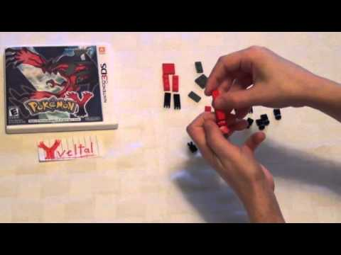 How to make a Lego Pokemon Yveltal