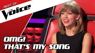 TOP 10   BEST TAYLOR SWIFT covers in The Voice