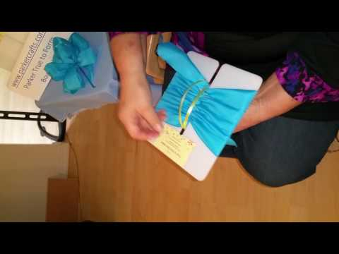 Easy Bow Maker creates gorgeous ribbon bows - watch n see how simple, www.parkercrafts.com