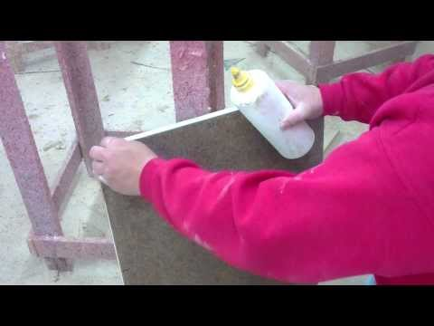 How to removal of laminate and glue countertop repair