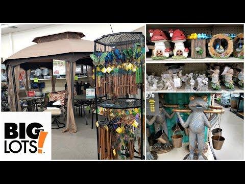 Shop WITH ME BIG LOTS PATIO FURNITURE GARDEN DECOR HOME IDEAS APRIL 2018