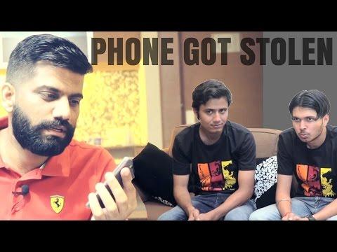 My Phones Got Stolen in India