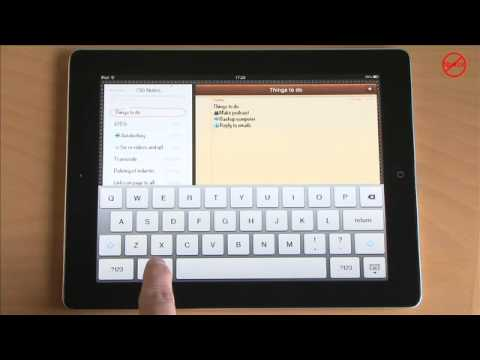 Adding Symbols to Text on the iPhone, iPad and iPod touch