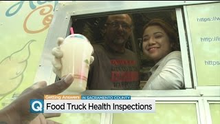 Food Trucks In Sacramento County May Soon Have To Display Health Inspection Placard