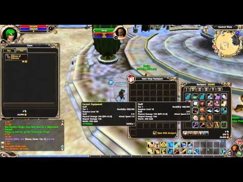 How to Sell Your Items in Runes of Magic (Tutorial)