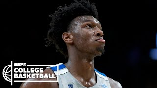 Potential No. 1 pick James Wiseman plays in Memphis' loss vs Oregon | College Basketball Highlights