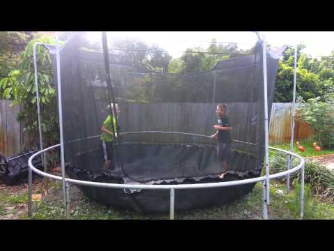 Trampoline / Homeowners Insurance Approved!