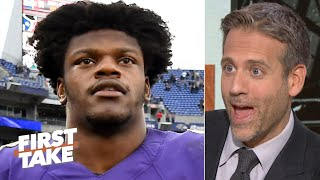 Lamar Jackson's passing must improve to give the Ravens title hopes - Max Kellerman | First Take