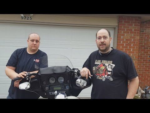 Paul Yaffe 12 inch Classic Bagger Apes Installation