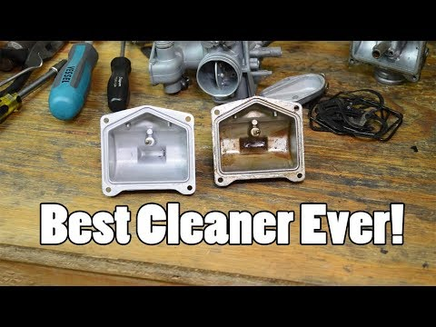 The BEST method for cleaning carburetors - soda blast and ultrasonic