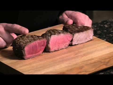 Steak Degrees of Doneness
