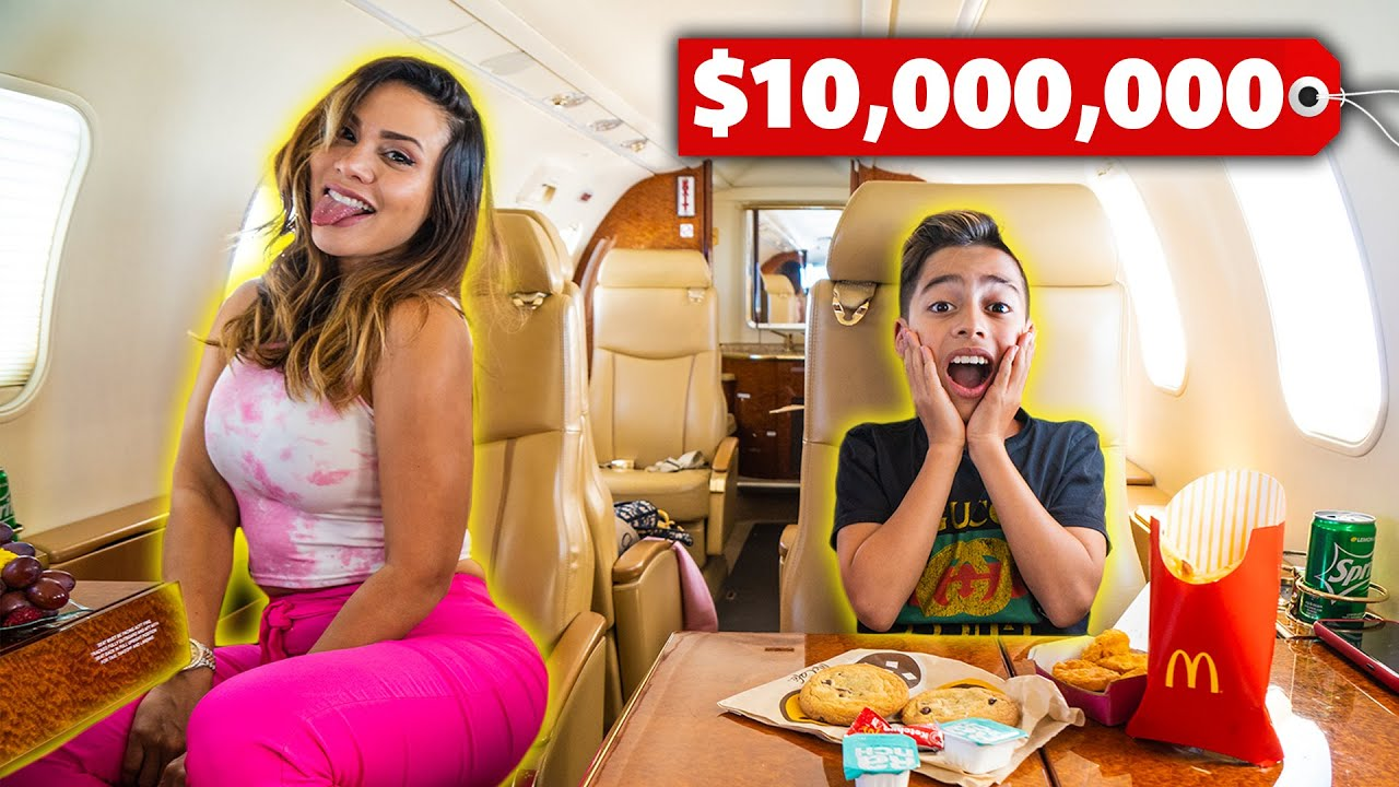 SURPRISING My FAMILY With a PRIVATE JET! **Dream Come True**   The Royalty Family