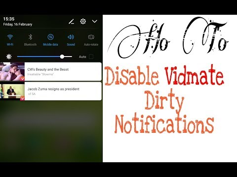 How to Stop/Disable/Off Annoying Notifications from Vidmate App