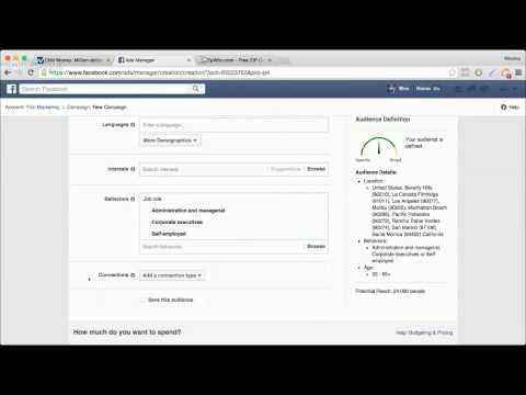 Facebook Targeting - Demographic by Zip Code