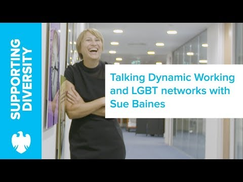 Meet Sue Baines - Champion of Dynamic Working and LGBT Networks | Barclays