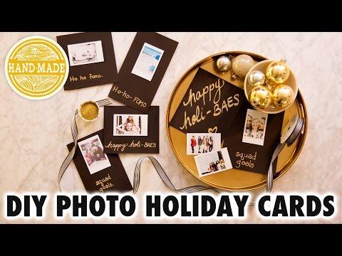DIY Instagram Holiday Cards - HGTV Handmade