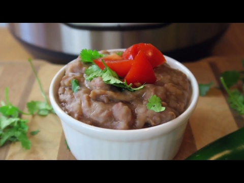 INSTANT POT REFRIED BEANS | EASY