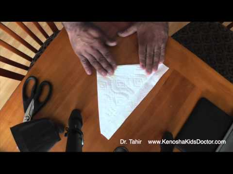 How To Make A Coffee Filter Using A Paper Towel