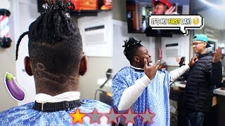 I went to the Worst Reviewed Barber in my City and REGRETTED EVERY MOMENT... HAIR TRANSFORMATION