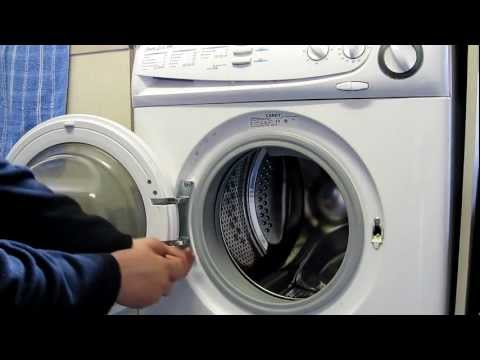 Washing Machine Repair - Candy DQW150 Door Hinge Replacement