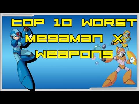 My Top 10 WORST MegaMan X Weapons