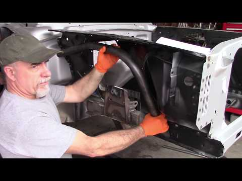Brooklyn pony 16 - Mustangs to fear frame stiffener install.