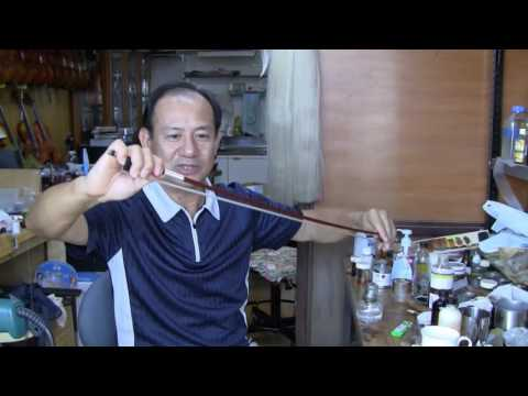 How to Straighten a Violin Bow