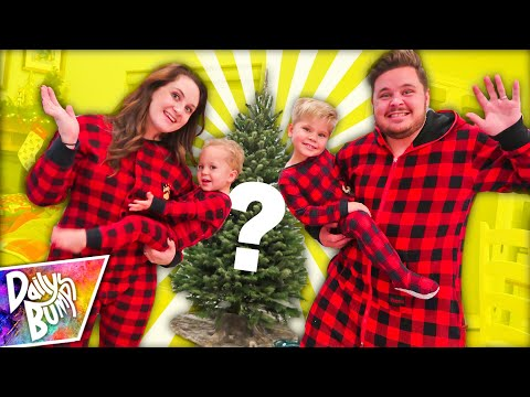 FAMILY CHRISTMAS TREE DECORATING TIME LAPSE!