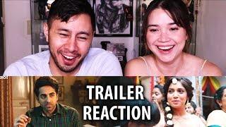 SHUBH MANGAL SAAVDHAN | Ayushmann Khurrana | Bhumi Pednekar | Trailer Reaction!