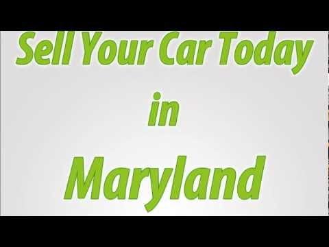 Sell A Car in Maryland