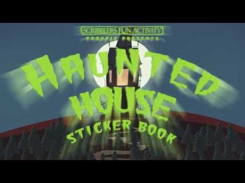 Haunted House Sticker Book Trailer