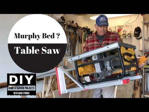 Fold up Table saw