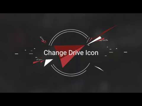 how to change drive icon in windows with software