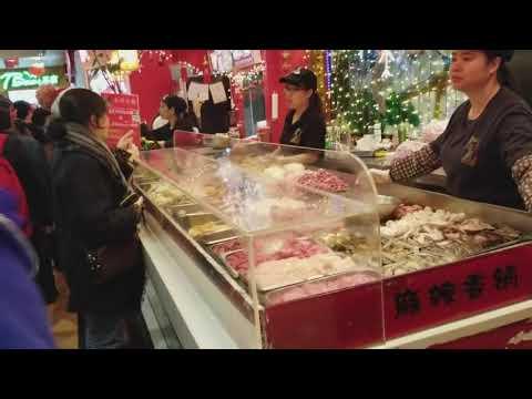Scholars go to Flushing Chinatown