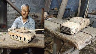 Amazing ideas crafts artwork use bamboo, Wood  DIY 2019