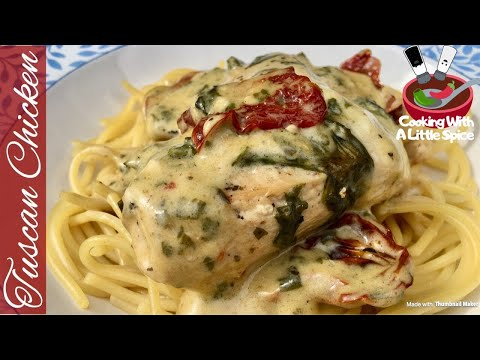 Easy Creamy Tuscan Chicken Recipe