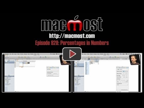 Percentages In Numbers (MacMost Now 928)