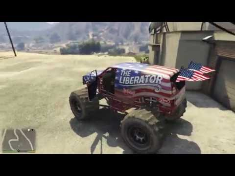 Monster truck spawn location GTA 5