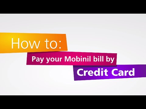 Mobinil Bill Payment | How to pay online your bill by credit card