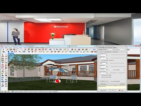 Learn How To Use SketchUp 3D Design Software Tools and Features To Create Home Interior Design