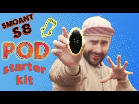 Better Than The Suorin Drop?! The SMOANT S8 Pod Starter Kit!