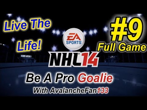 NHL 14 - Be A Pro - Goalie - Episode 9: Game 49 of My First Season *Full Game*