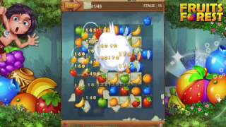 [mobile game] Fruits Forest : Rainbow Apple