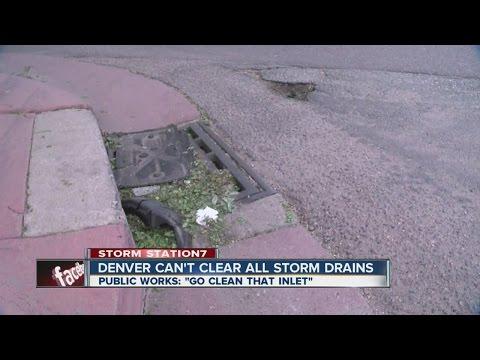 Denver asks citizens to clean city storm drains
